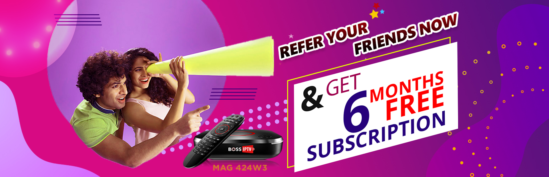 Refer a Friend & get 6 Months Subscription Free